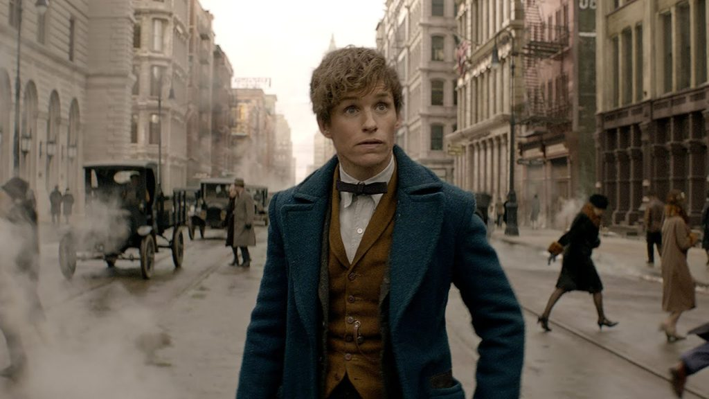 Descheveled, therefore typical, Newt Scamander