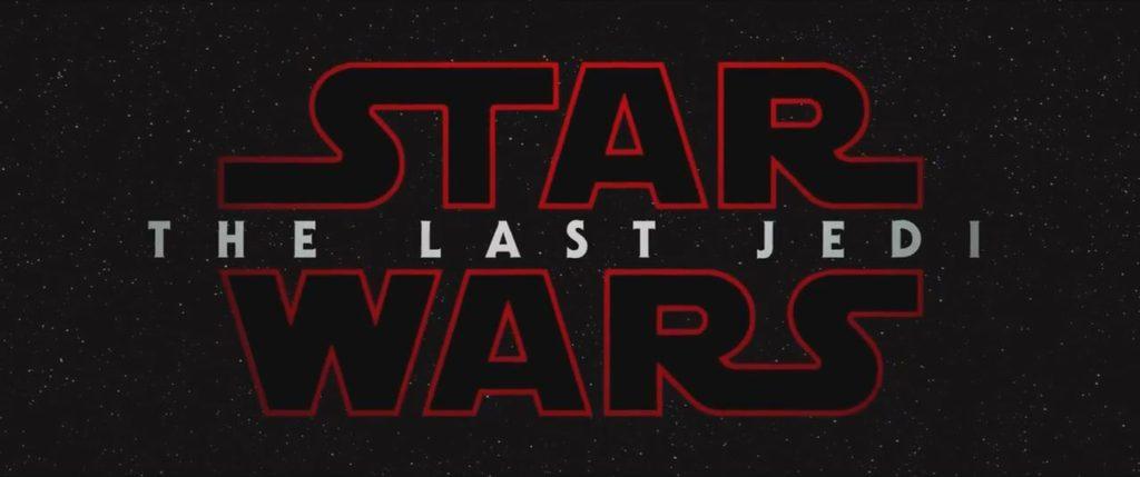 Star Wars Last Jedi title